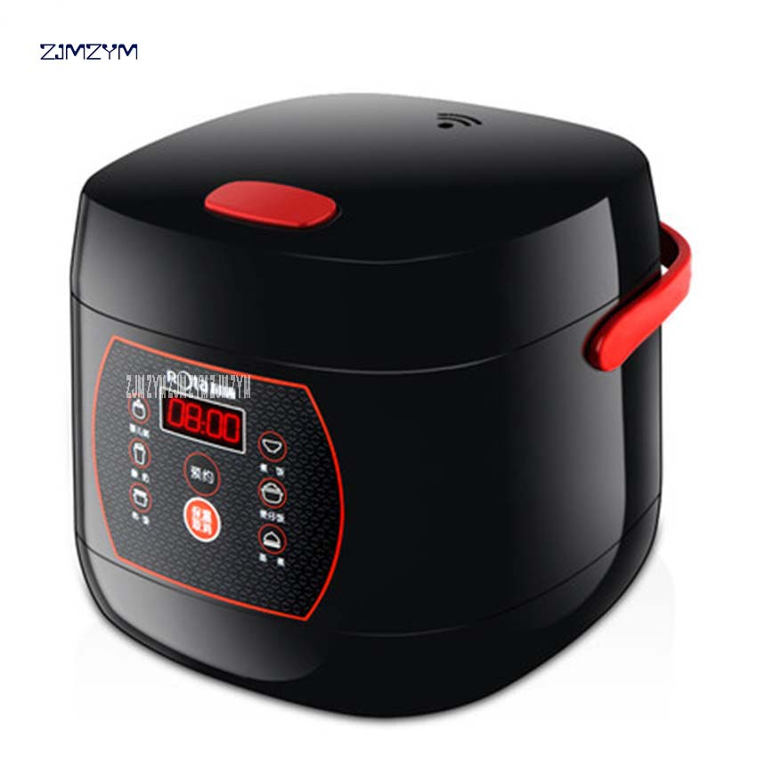 RTFB-20HW Mini Intelligent Microcomputer Rice 2L Cooker Reservation Small Rice Cooker Suitable 1-2 People Electric Non-Sticking<br>