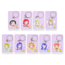 Buy Love live Key chain keyrings 9 Styles Nico Maki Umi Keychain Hot Sale Custom made Japanese Anime Key Rings FQ1 for $1.00 in AliExpress store