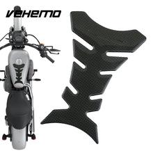 3D Motorcycle Carbon Fiber Sticker Decal Gas Oil Fuel Tank Pad Protector Racing Car Stickers For Yamaha Honda Suzuki Kawasaki(China)