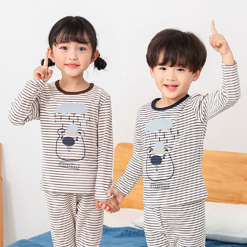 2018 Children Clothes Kids Clothing Set Boys Girls Pajamas Sets Cars Styling Nightwear Print Pajamas Girls Sleepwear Baby Pajama