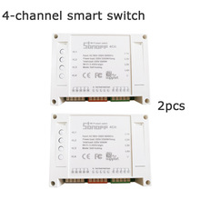 Smart home Sonoff 4CH itead 4channels Wireless Switch on off Timer Switch via app Automation Intelligent remote control products