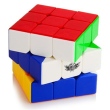Hot Sale 4 Choice New Cyclone Boys Rainbow G4 G5 Stickerless Magic Speed Cube Puzzle Twist For Children Education Toys Gift