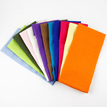 Fashion Candy Colours fabric linen cotton placemat heat insulation mat dining table mat children table Napkin fabric placemats