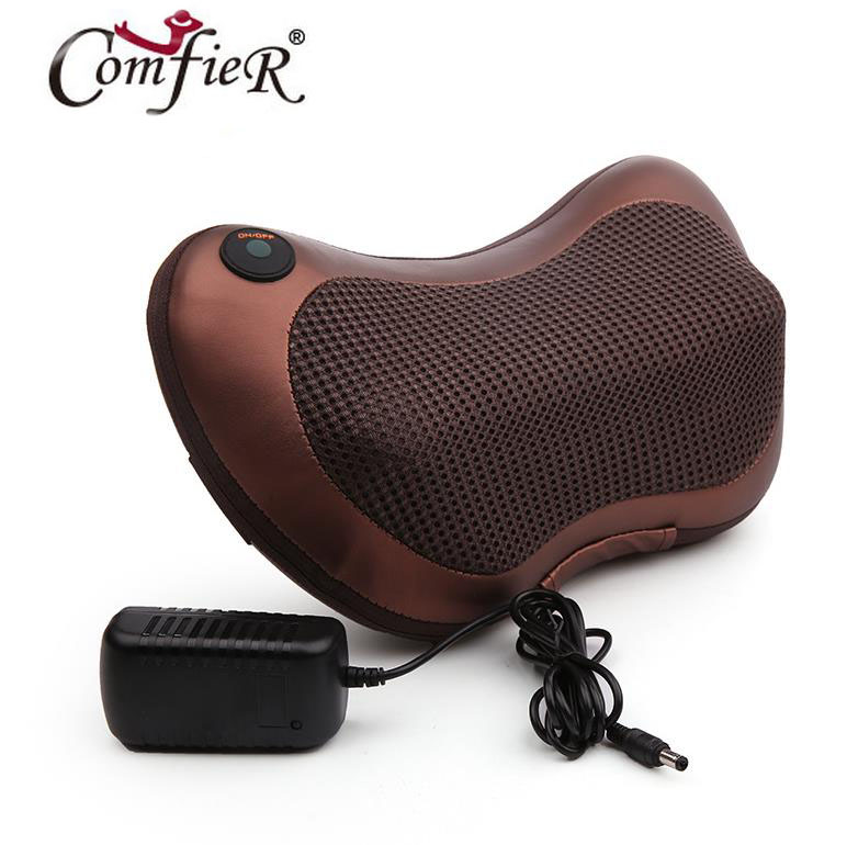Car home neck shoulder massage pillow The waist leg massager Multifunctional massage pillow body massage<br>