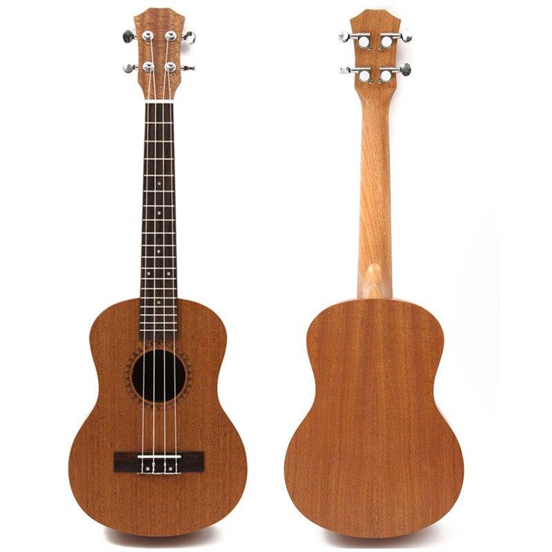 Professional 26 Inch Ukulele Uke Hawaii Acoustic Guitar Sapele 18 Fret Wood Ukulele Musical Instruments For Great Gift<br>
