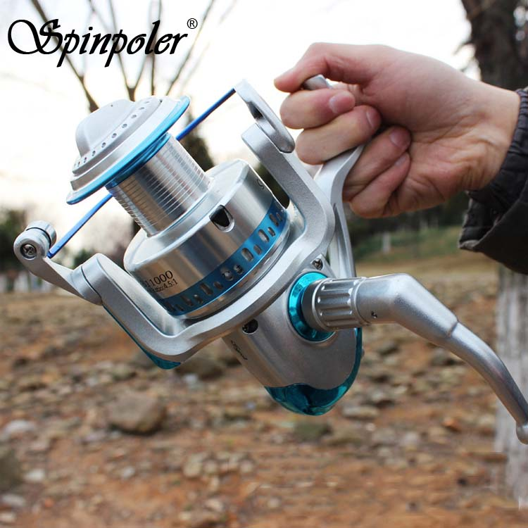 Excellent Quality Spinning Fishing Reel 7+1BB SB8000/9000/10000/11000 Metal Spool Big Saltwater Spinning Reels 4.5:1 Left/Right(China (Mainland))