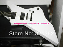 White James Hetfield Electric Guitar New Arrival High Quality Wholesale Guitars HOT