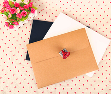 black A4 envelope  kraft and white A4 invitation card envelope sizes a4