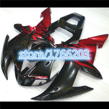 fairings for YAHAMA YZF R1 03 02 YZF-R1 02-03 red black YZFR1 2003 2002 YZF1000 R1 03 02 fairing kits bodywork Ning(China)