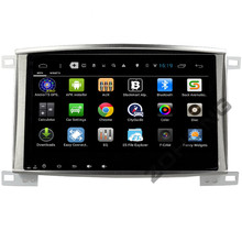 10.2 inch Quad Core Android Car DVD Player for Toyota Land Cruiser 100 LC100 GPS Navigation Radio Bluetooth built-in WIFI