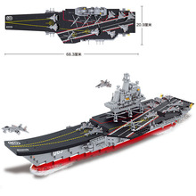 Sluban building blocks 1:450 Aircraft carrier Antisubmarine helicopters Stealth aircrafts fighter planes 4 patrol yachts
