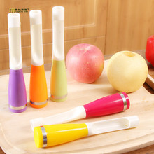 1PC Apples Core Removers Plastic Apple Pear Chili Corers Fruits And Vegetables Kernel Remover Core Seed Remover OK 0287(China)