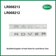 LR008212 LR008213 rear brand car stickers RANGE ROVER for Range Rover 02-09/10-12 auto name plate aftermarket parts China supply