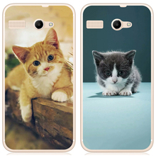 I am alone Case For Micromax Bolt Q346 4.5 inch Solf TPU Silicone Case Mobile Phone Cover Bag Cellphone Housing Shell Skin Mask(China)
