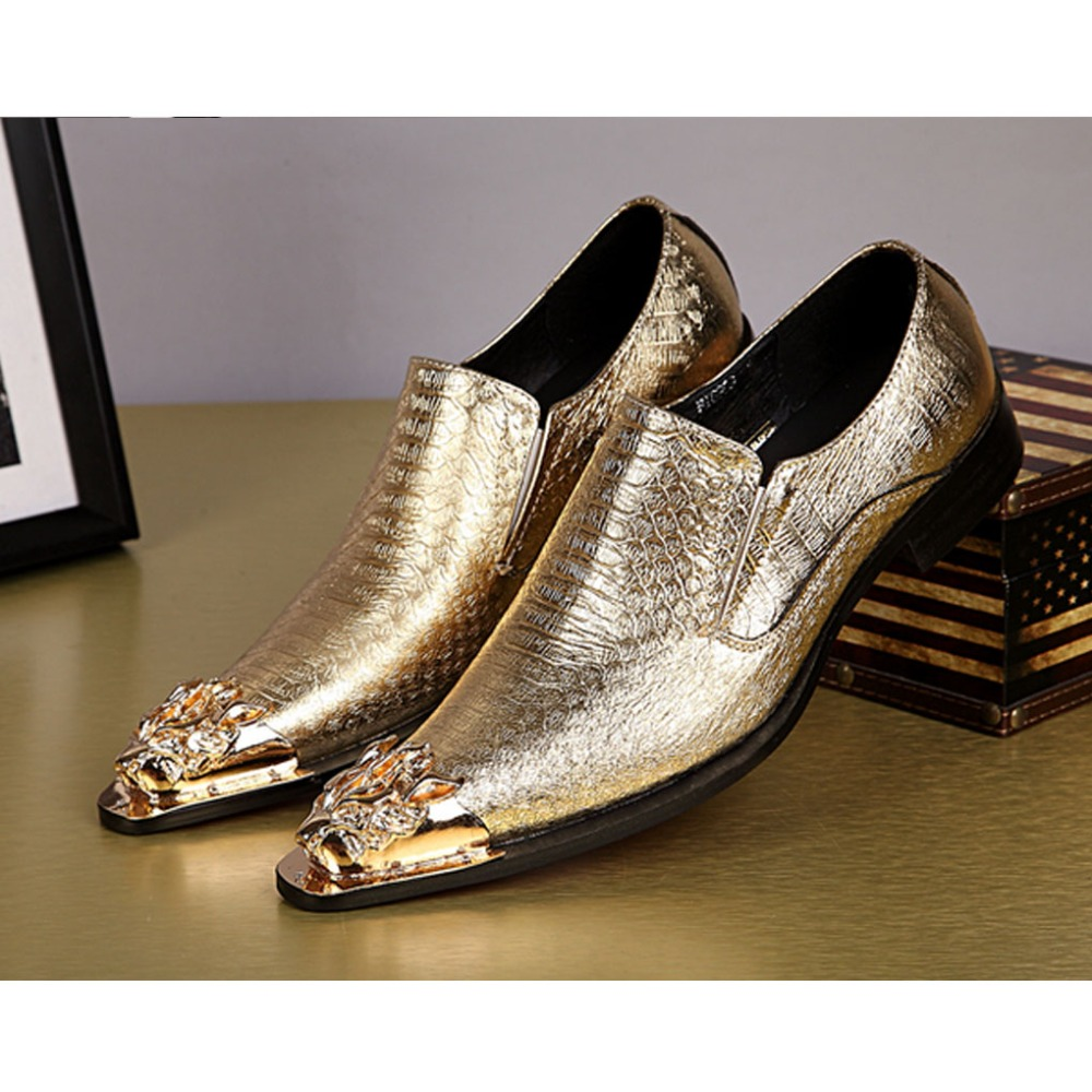 British Style Steel Pointed Toe Mans Natural Snakeskin Leather Cowhide Wedding Business Dress Night Club Shoes 022<br><br>Aliexpress