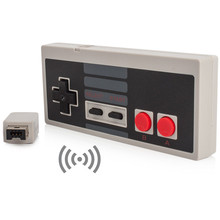 For NES Mini Classic Edition Wireless USB Plug 2.4GHz Play Game Controller Gamepad mini NES Controller With Wrireless Joystick