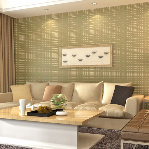 small check super 3d flocking high foaming nature fabric wallpaper for abstract designs in bedroom papel de parede<br>
