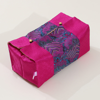 handicrafts patchwork decorative removable tissue box cover fashion chinese style high end silk brocade cloth art