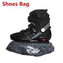 Good Quality Inline Skates Wheel Frame Protective Cover, Waterproof Dustproof Nylon Roller Skates Slalom Speed Skating Shoes Bag(China)