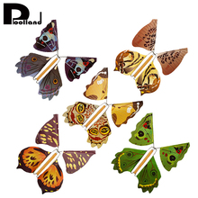 2 Piece/set Magic Toys Hand Transformation Flying Butterfly Magic Tricks Kids Funny Gift Surprise Prank Joke Fun Classic Toys P2(China)