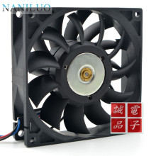 NANILUO 92*92*25mm FFB0912SH with original connector dual motor 9025 12V 1.04A for