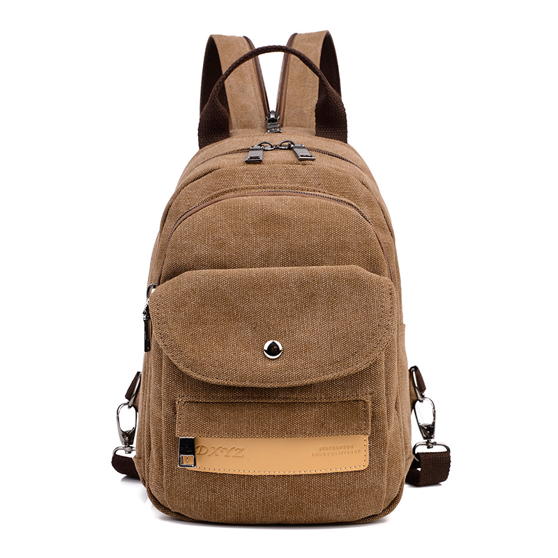 New Women Small Backpack Canvas Backpacks for Women Female WomensTravel Bagpack Multifunctional Shoulder Bags Chest Pack<br><br>Aliexpress