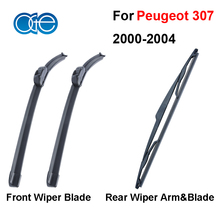 Oge Windshield Wiper Blades For Peugeot 307 2000 2001 2002 2003 2004 Windscreen Silicone Rubber Auto Car Accessories