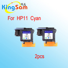 2x hotselling for hp 11 cyan printhead C4811A Office Jet HP820/9110/9120/9130/K850 printer head