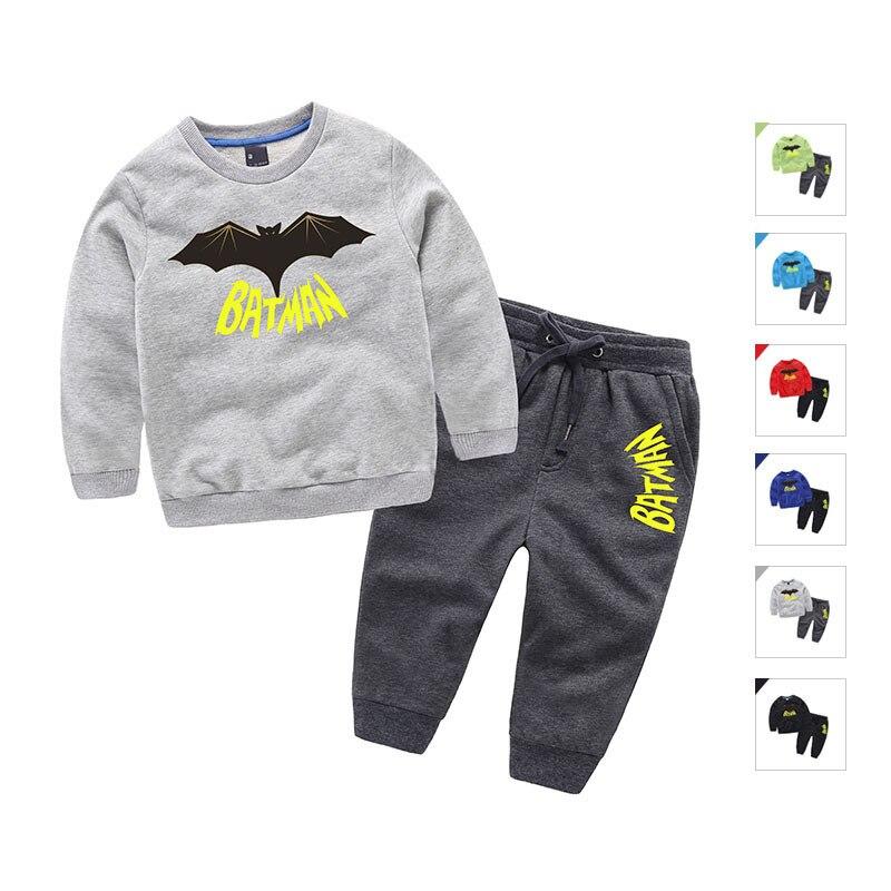 High Quality Cotton Cartoon Kids Clothes Batman Long Sleeve Roupas Infantis Menino O-neck Vetement Enfant Garcon Kinderkleding<br><br>Aliexpress