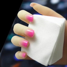 1800pcs Acrylic UV Gel Tips Soft Makeup Cotton Nail Polish Remover Cleaner Makeup Wipes Pads absorbent sanitary cotton 2bags(China)