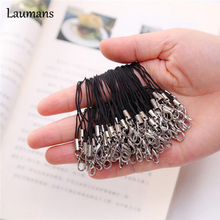 Laumans 100 pcs/lot Cell Phone Lobster Clasp rope brand lanyard Cords Strap Lariat Mobile 1HWH hand lanyard strap usb