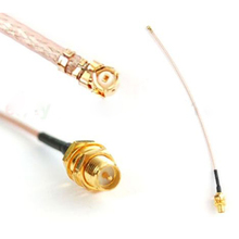 1 PCS 20cm RP SMA Female to uFL/u.FL/IPX/IPEX RF Coax Adapter Assembly RG178 Pigtail P10(China)