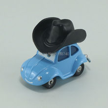 Pixar Cars Flik With Cowboy Hat Diecast Metal Toy Car For Children Gifts 1:55 Loose New In Stock