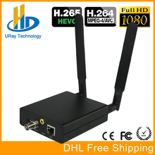 H.265 HEVC 3G HD SD SDI TO IP Video Streaming Encoder H265 To Wowza, Xtream Codes IPTV Media Server, Live Stream Broadcast etc.(China)