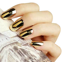 Hot Item  Women Nail Stickers Art Decoration Sticker Nail Beauty Tools Fashion Smooth Gold Foil Armour Nail Sticker New Pattern