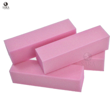 Nail Salon 4pcs/lot Pink Nail Art Buffer Sanding Blocks,DIY Nail File Buffering Polishing Manicure Tools SATR05