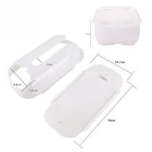 New style 1pcs Environmental Protection Bags Receive Box White Plastic Bag Plastic Storage Box