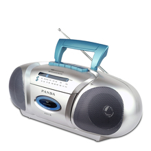 Panda 6311E Recorder small double horn learning teaching triple play tape recording Radio(China)