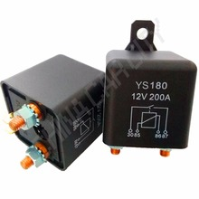Car Truck Motor Relay 12V 24V 120A 200A 4.8W continuous Automotive Starter Switch Car Relays High Power Contact Load R20(China)
