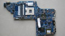 45 days Warranty  laptop Motherboard for hp DV6 DV6-7000 notebook mainboard , 685551-001 ISKAA L2S Paypal Accepted