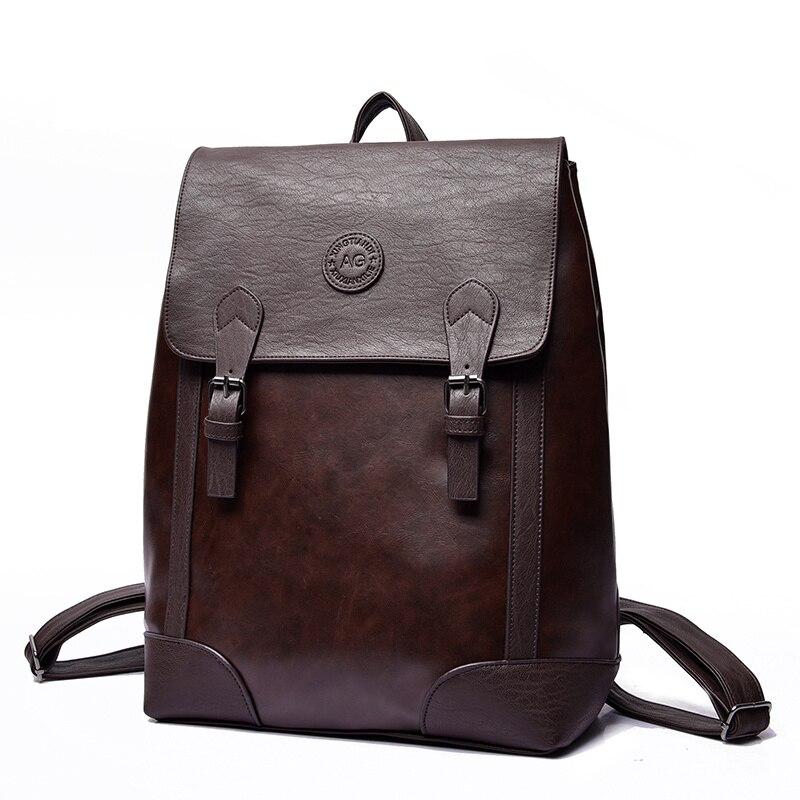 ETN BAG 040816 hot sale man vintage PU leather backpack<br><br>Aliexpress