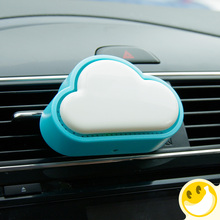 solid perfume Diffuser Mini Portable Aromatherapy diffuser air purifier Car Air Conditioner Vent Magic Hot Selling Air Freshener(China)