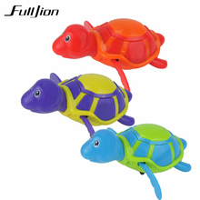Fulljion Baby Bath Toys Swimming Animal Water Toy Fun Shower Tortoise Wind Up Clockwork Play Swim Pool & Accessorie For Children(China)
