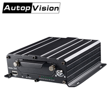 MDRMDR7104 720P HD 4CH HDD Mobile Mobile DVR Black Box Video Audio SD card AVI with IR Remote Car HDD Mobile DVR(China)