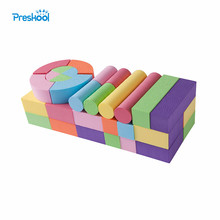 52 Pcs Baby Toys Building Blocks Eva Foam Non-Toxic Non-Recycled Quality for Children Soft Color Bright Brinquedos Juguets(China)