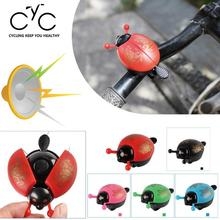 Cute Ladybird Ladybug Bells Kids Bike Bicycle Bell Ring  Bicycle Accessories