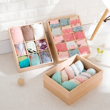 Beech underwear storage box home underwear socks bra split drawer finishing box storage box(China)