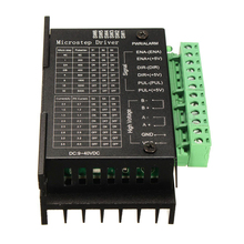 High Quality 20KHZ CNC Single Axis TB6600 2/4 Phase Hybrid Stepper Motor Driver Controller Black