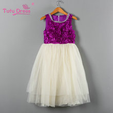 Baby Girls Evening Dress Kids Sleeveless Casual Floral Dresses Children Fancy Wedding Party Prom Frocks Vestidos