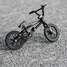 1:50 Black Finger Bike Toy Flick Trix Mini bmx bikes bicycle model toys for children boys mountain bike gift Novelty game fsb(China)